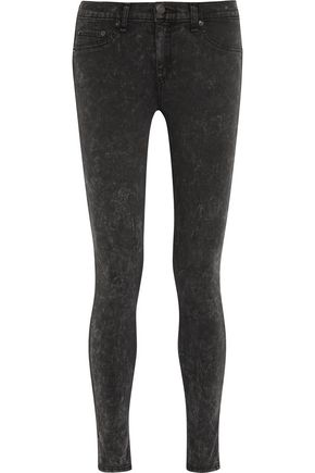 RAG & BONE The Legging coated mid-rise skinny jeans