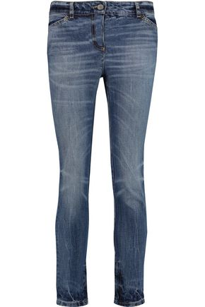 GOLDEN GOOSE DELUXE BRAND Carol low-rise straight-leg jeans
