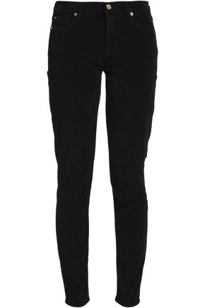 7 FOR ALL MANKIND The Skinny mid-rise corduroy jeans