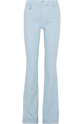 J BRAND Dasha high-rise flared jeans