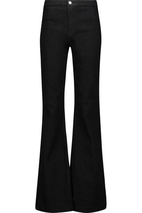 J BRAND High-rise flared jeans ...