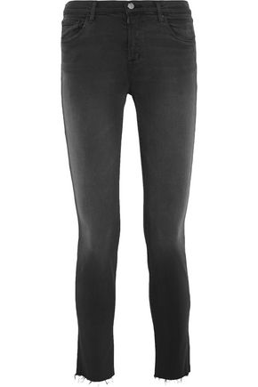 J BRAND 811 Photo Ready mid-rise skinny jeans