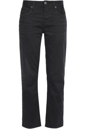 CURRENT/ELLIOTT The Crossover high-rise straight-leg jeans