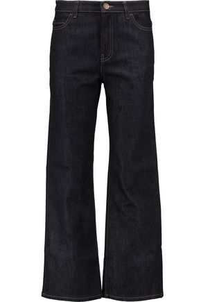 VALENTINO High-rise straight-leg jeans