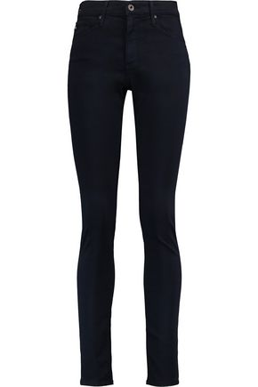 AG ADRIANO GOLDSCHMIED The Farrah Skinny high-rise skinny jeans