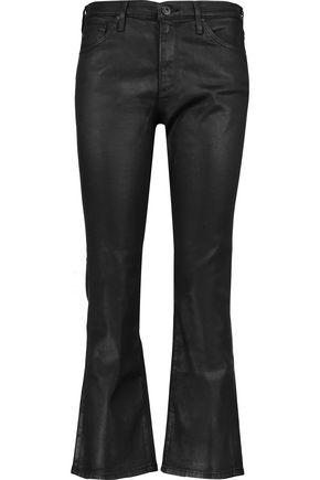 AG Jeans The Jodi Crop high-rise bootcut jeans