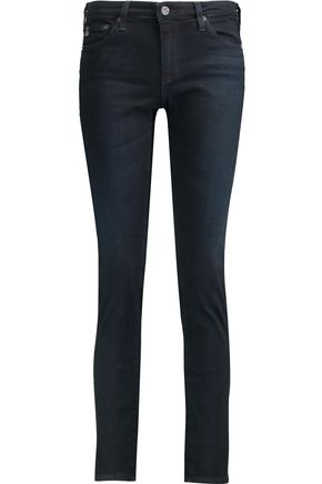 AG ADRIANO GOLDSCHMIED High-rise slim-leg jeans