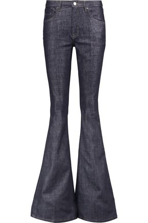 VICTORIA, VICTORIA BECKHAM High-rise flared jeans