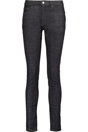 VICTORIA, VICTORIA BECKHAM Low-rise skinny jeans
