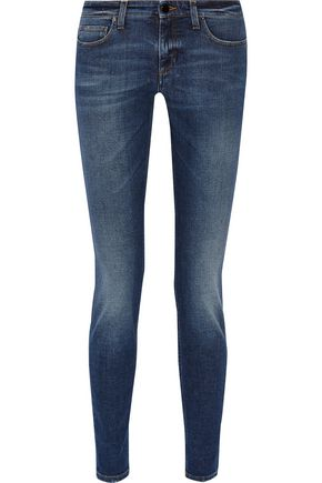 VICTORIA, VICTORIA BECKHAM Superskinny mid-rise jeans