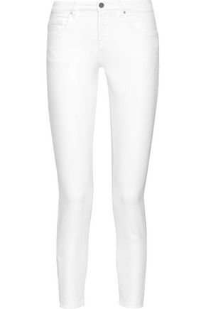 VICTORIA, VICTORIA BECKHAM Ankle Slim mid-rise skinny jeans