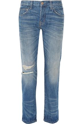 CURRENT/ELLIOTT The Selvedge Fling boyfriend jeans