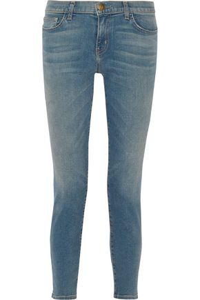 CURRENT/ELLIOTT The Easy Stiletto low-rise skinny jeans