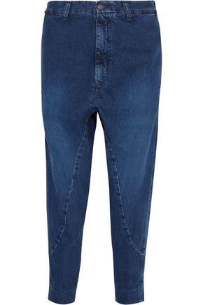 BASSIKE Super Lo Slung cropped boyfriend jeans