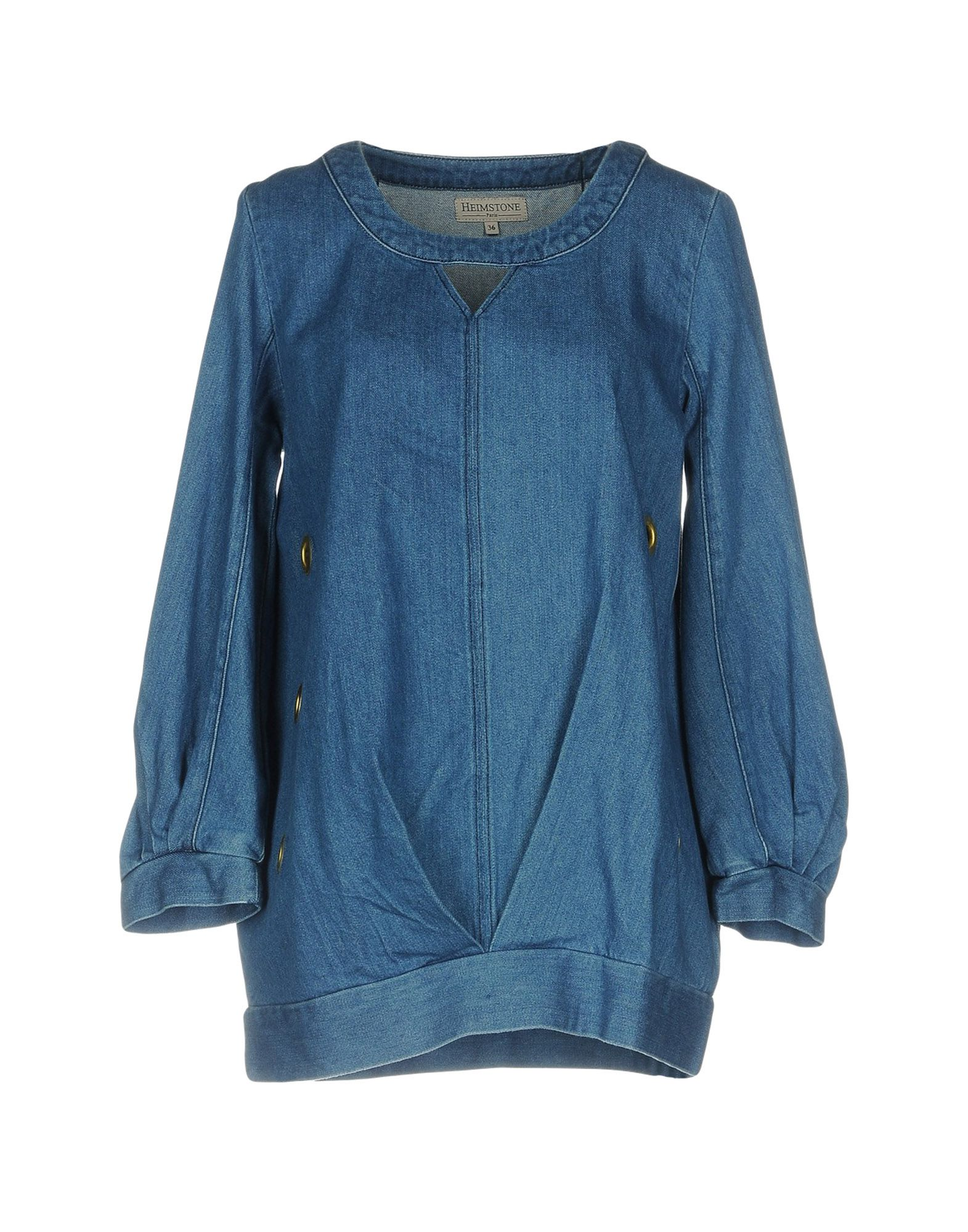 HEIMSTONE Джинсовая рубашка цена 2017