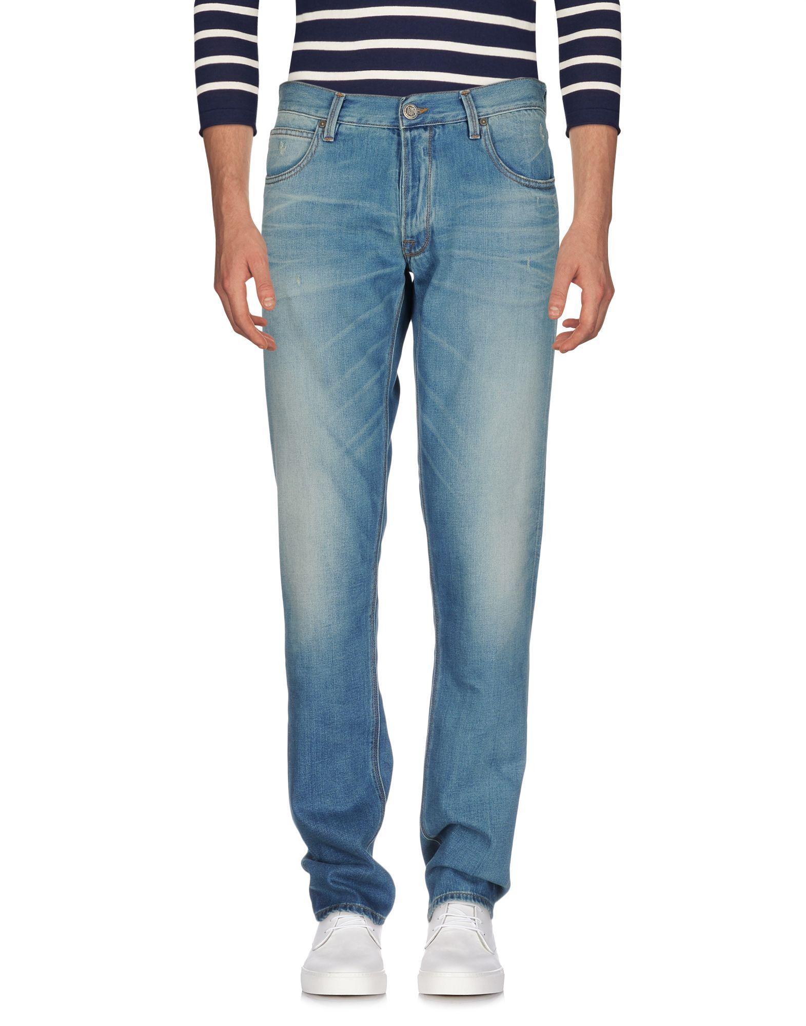 PURPLE DE NIMES Джинсовые брюки недорго, оригинальная цена
