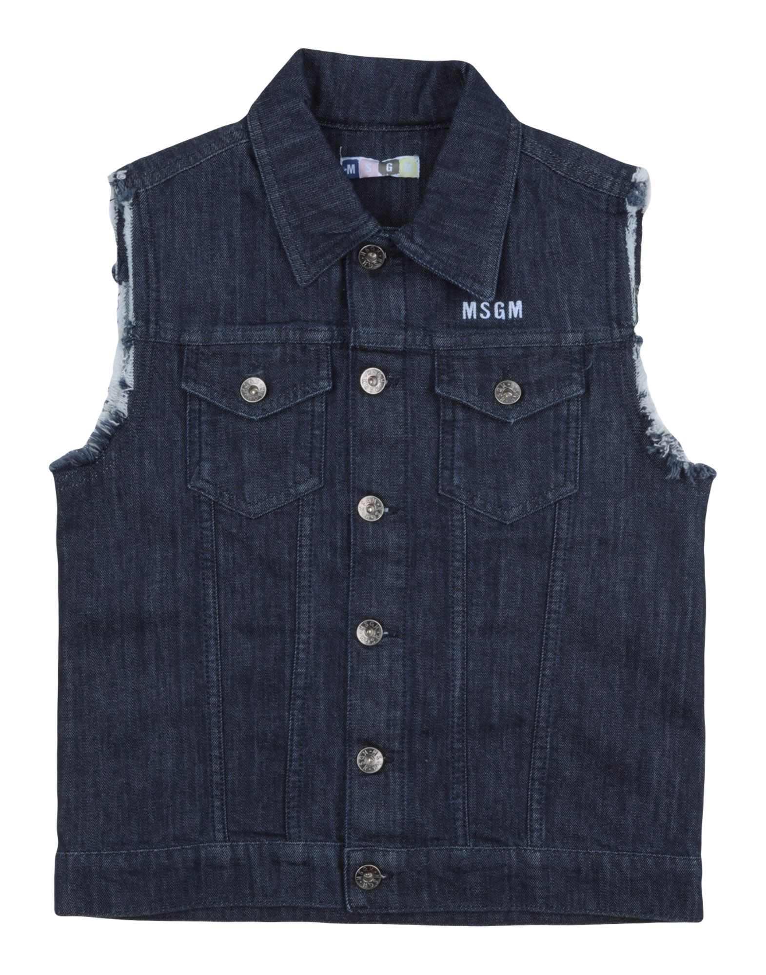 MSGM Джинсовая верхняя одежда wellber детская одежда 110