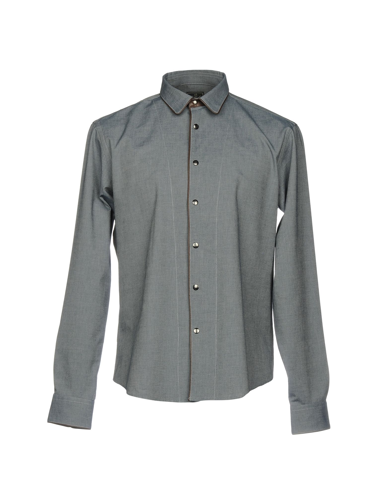 MONTECORE Джинсовая рубашка montecore повседневные брюки