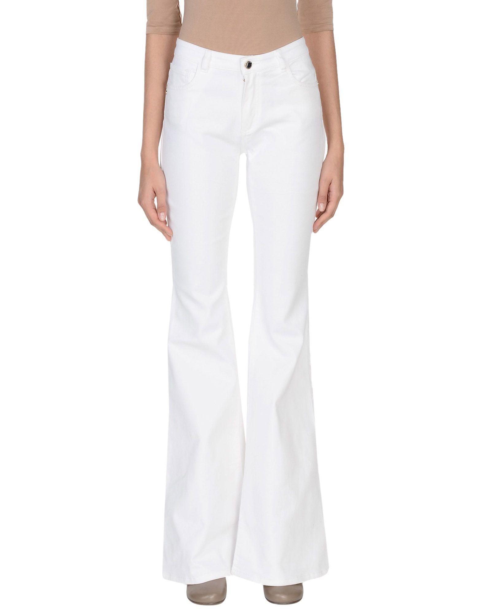 MANGANO Denim Pants in White