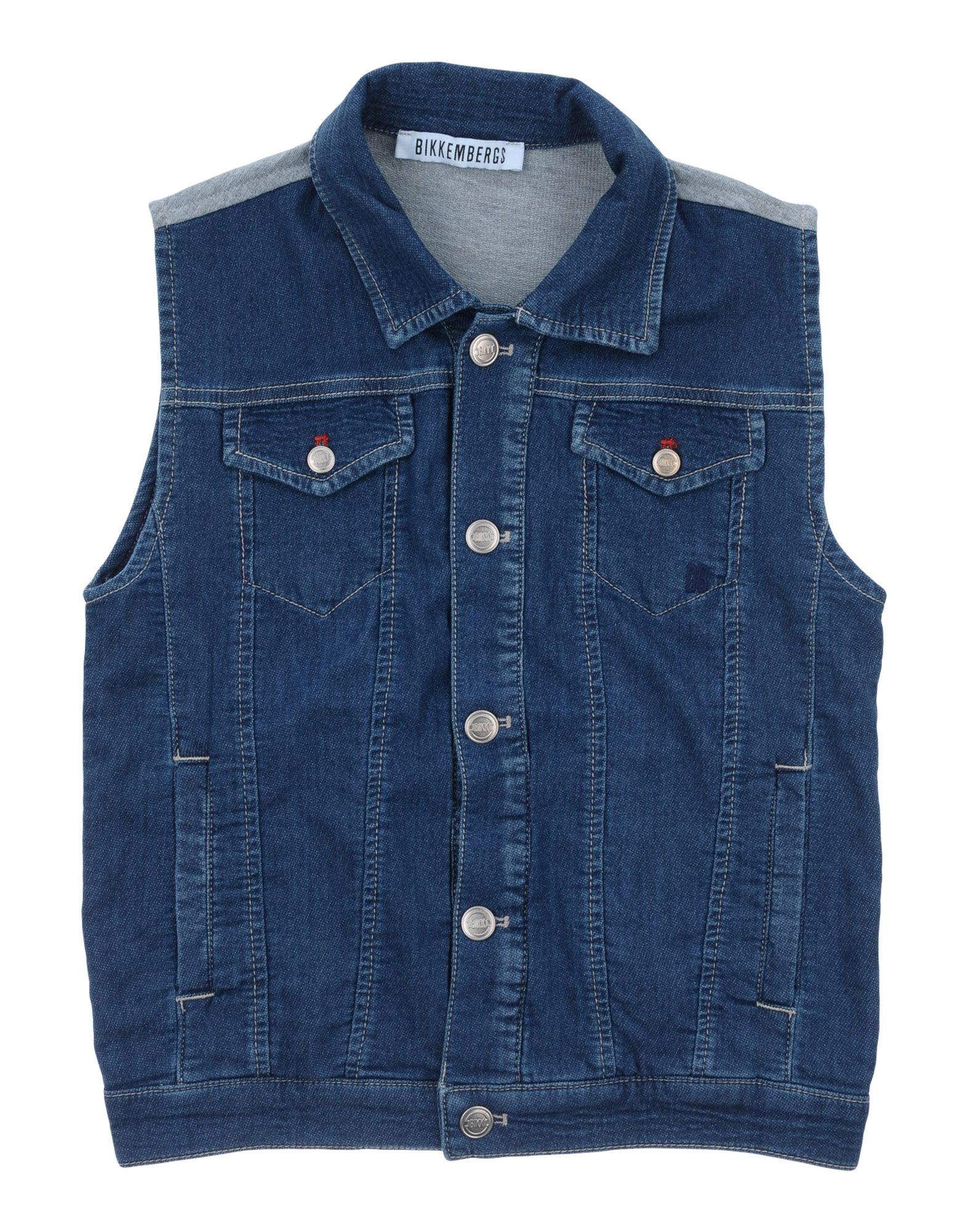 BIKKEMBERGS Джинсовая верхняя одежда джинсы bikkembergs c q 61b fj s b093 033b