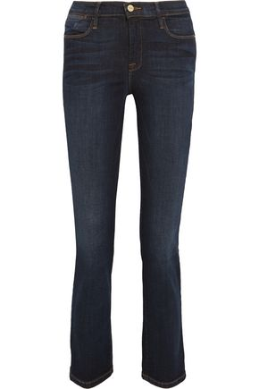 BY FRAME Le High cropped slim-leg jeans