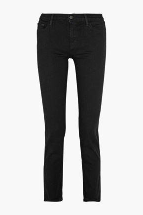 J BRAND Amelia mid-rise straight-leg jeans