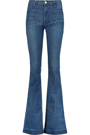 BY FRAME Le Bardot mid-rise flared jeans