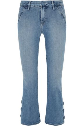 BY FRAME Le Crop Mini mid-rise bootcut jeans