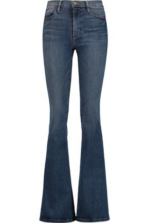 FRAME High-rise flared jeans