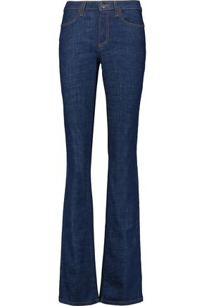 IRIS AND INK Mid-rise flared jeans