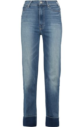 MOTHER The Maverick mid-rise faded boyfriend jeans