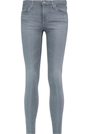 AG ADRIANO GOLDSCHMIED Mid-rise skinny jeans