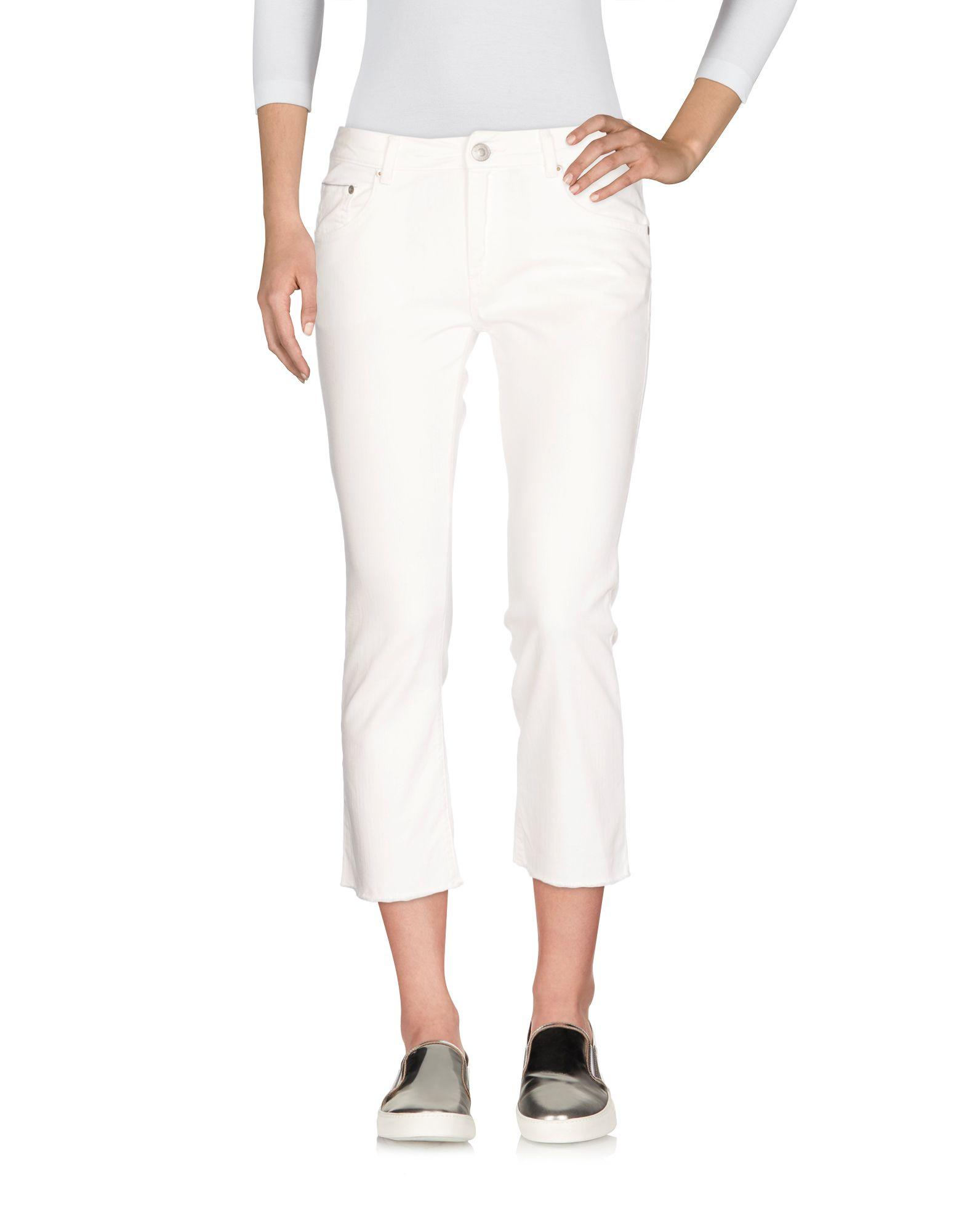 CARE LABEL Джинсовые брюки-капри