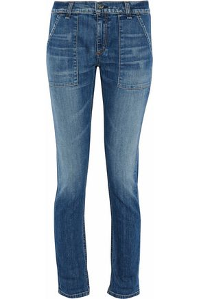 RAG & BONE Distressed faded boyfriend jeans