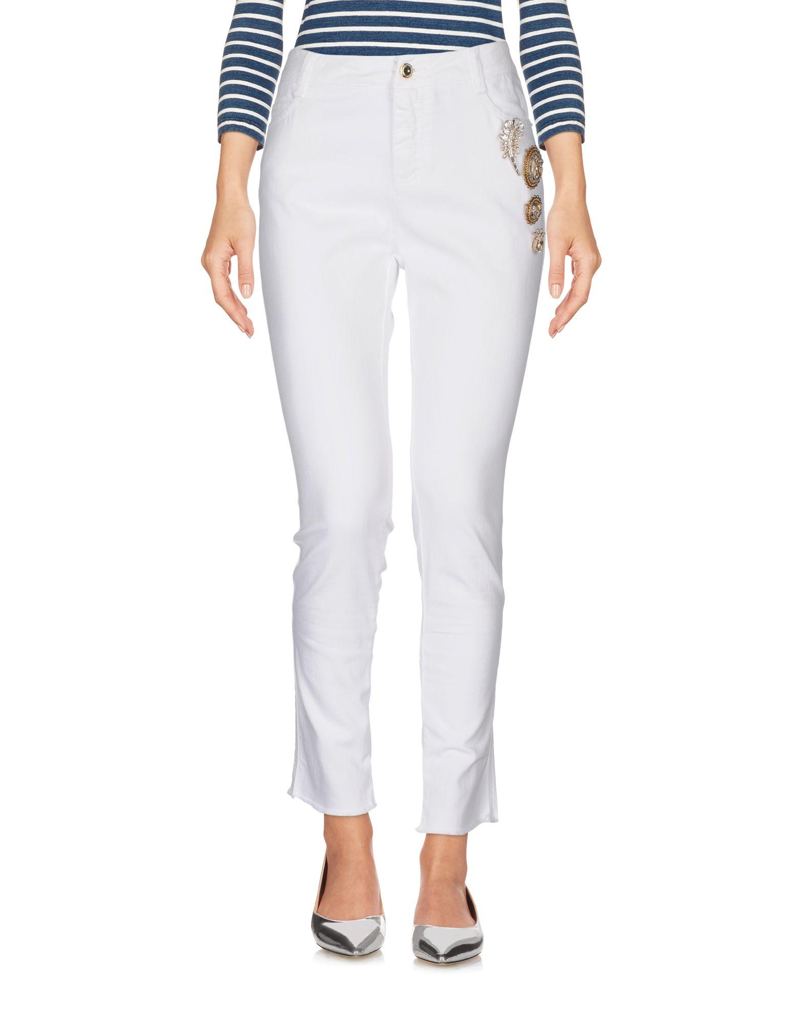 ERMANNO SCERVINO Джинсовые брюки dismero джинсовые брюки