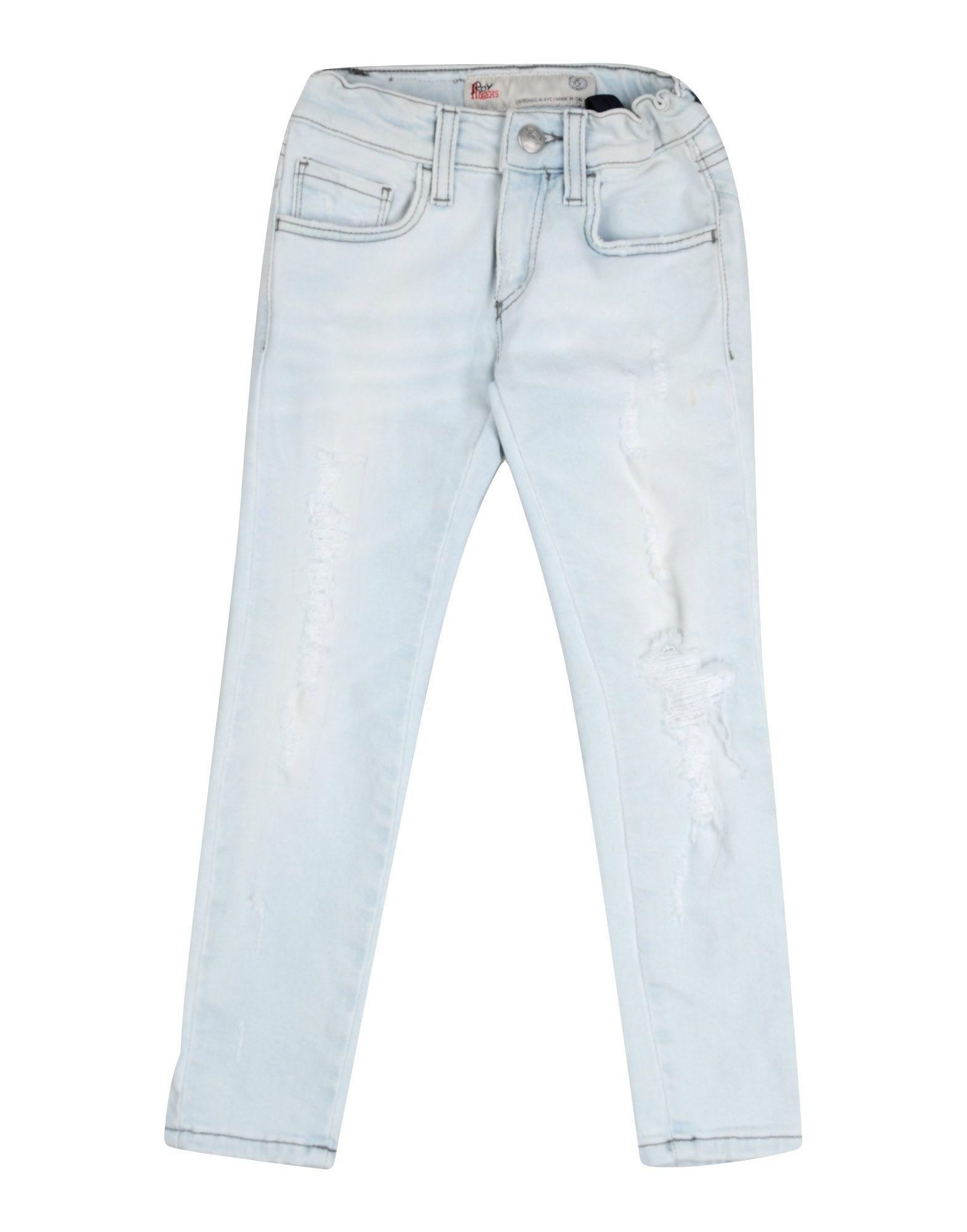 ROŸ ROGER'S Джинсовые брюки брюки текстильные джинсовые для девочек 110 362011 синий деним ean 4690244736511
