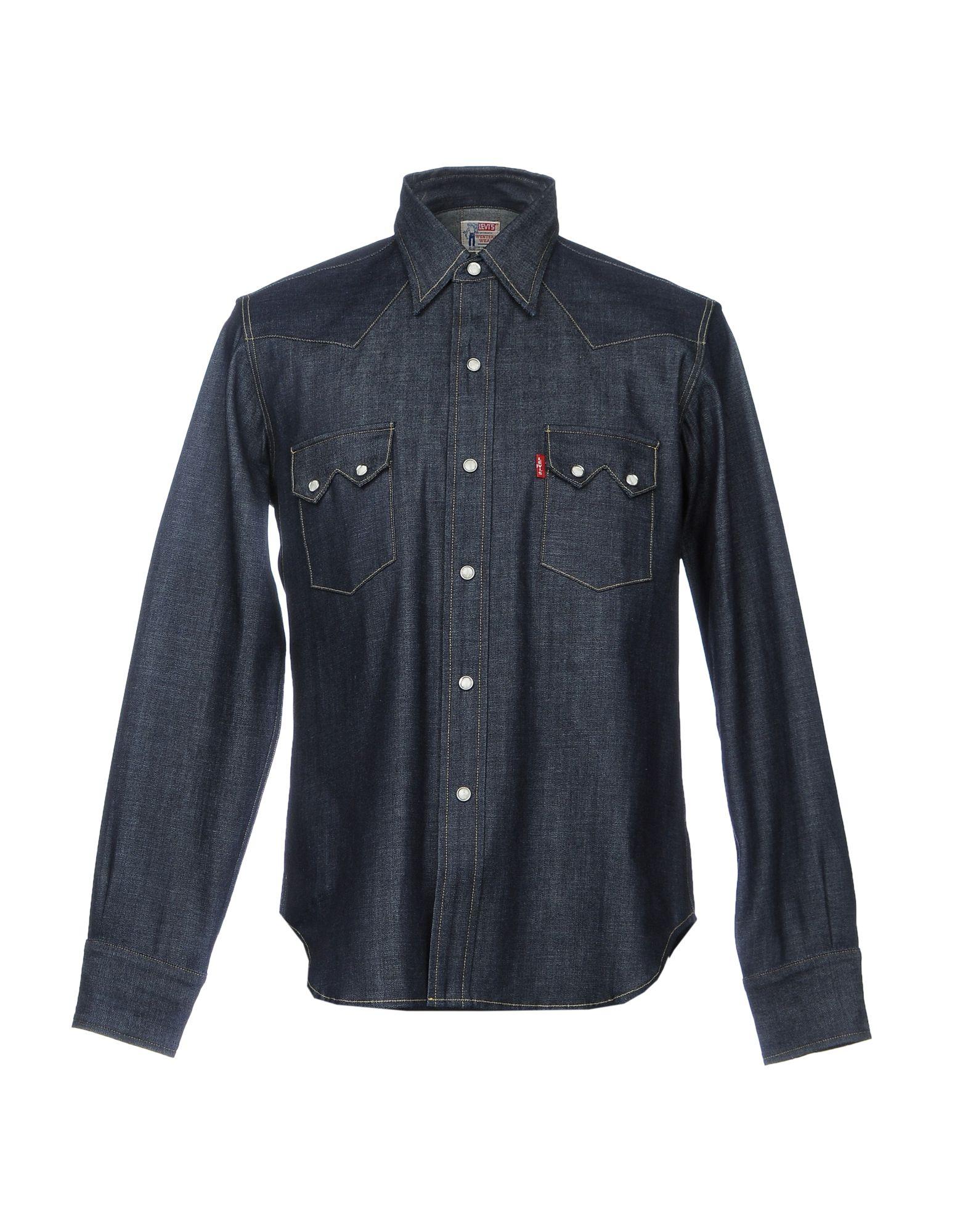 LEVI'S VINTAGE CLOTHING Джинсовая рубашка levi s vintage clothing платок