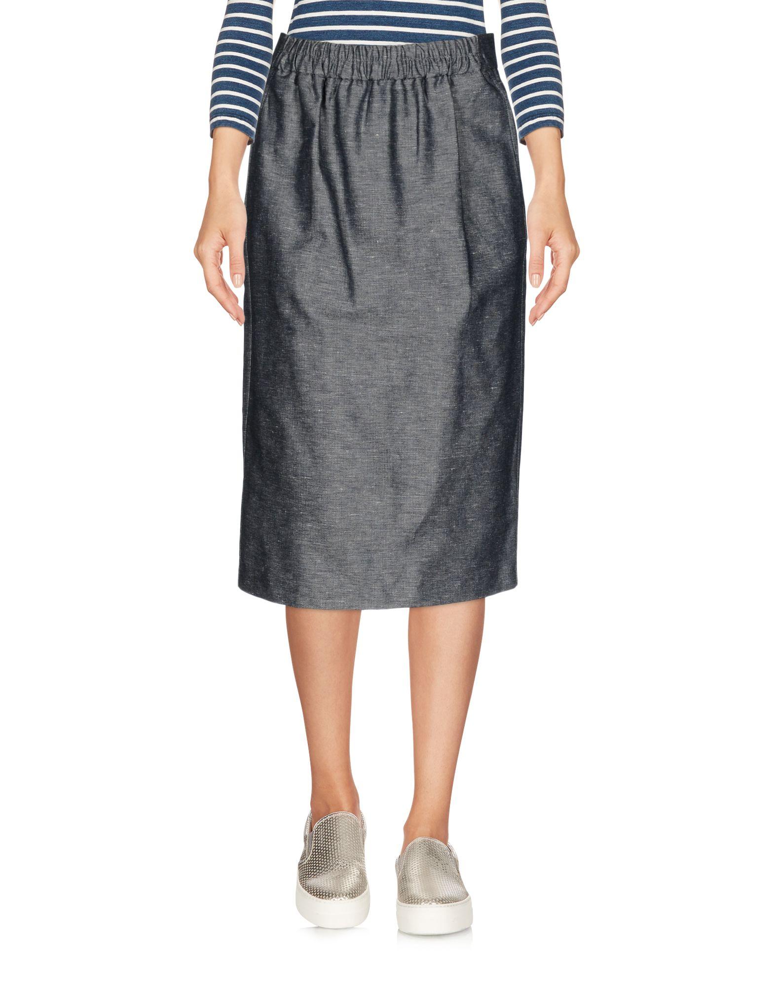 MOMONÍ Джинсовая юбка vinemo vorneoco корейская версия высокой талии слот пакет юбка джинсовая юбка юбка юбка r1540 серый xl