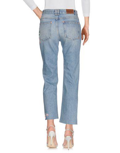 Фото 2 - Джинсовые брюки от ANINE BING синего цвета