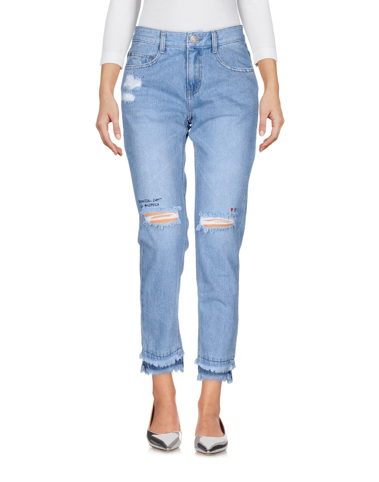 купить SJYP Джинсовые брюки по цене 19500 рублей