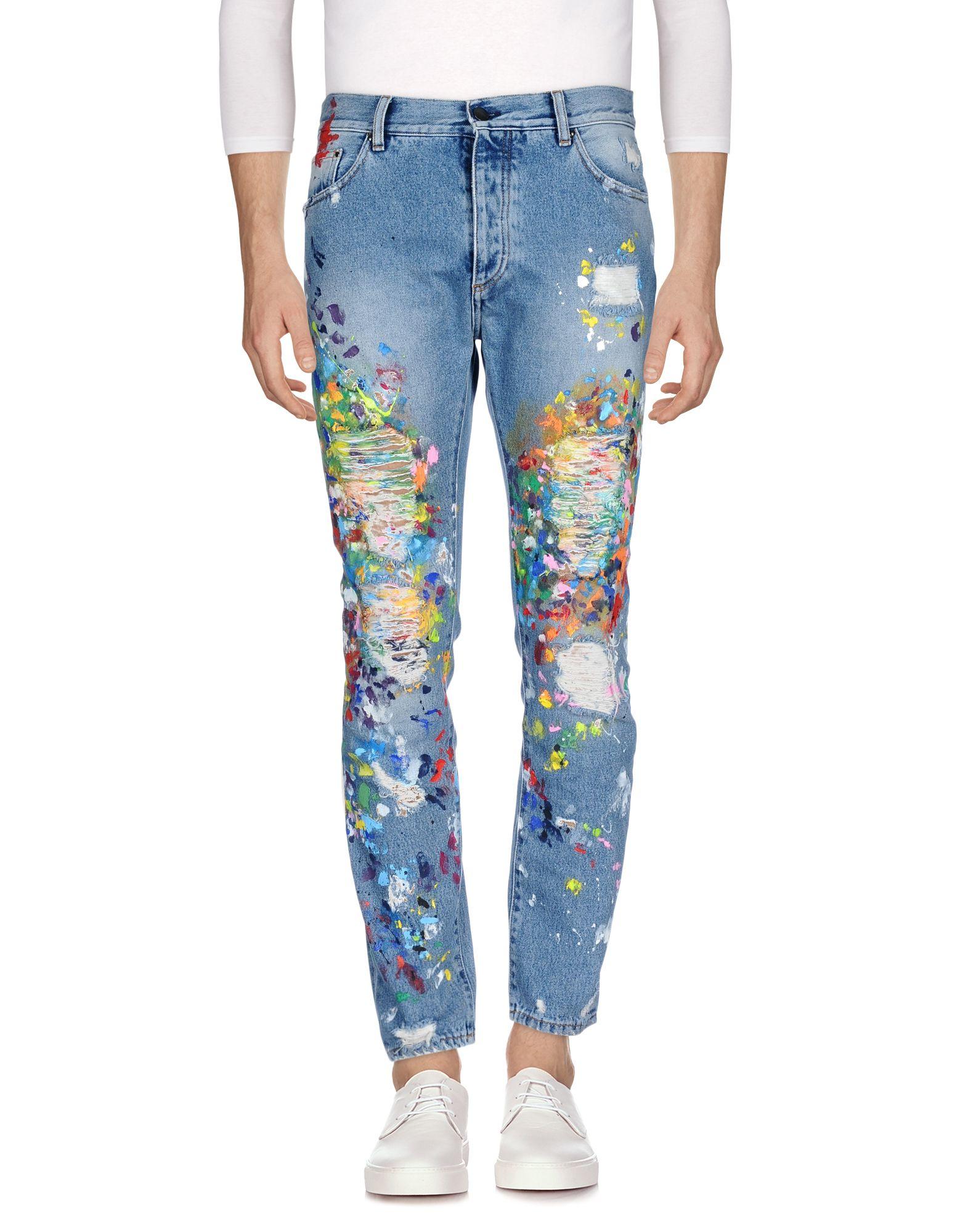 PALM ANGELS Джинсовые брюки женские брюки лэйт светлый размер 56