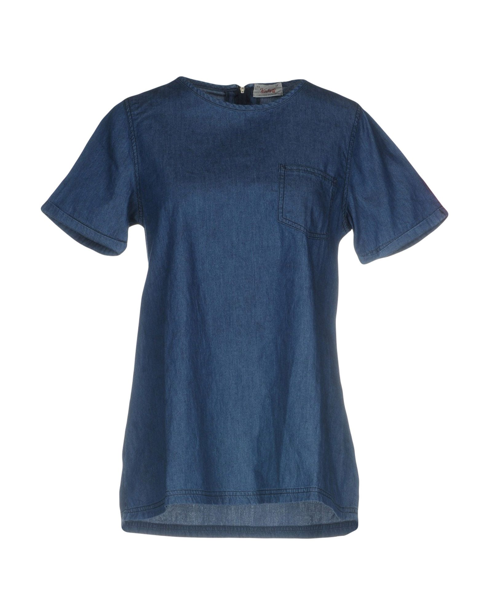 цена на VINTAGE 55 Джинсовая рубашка