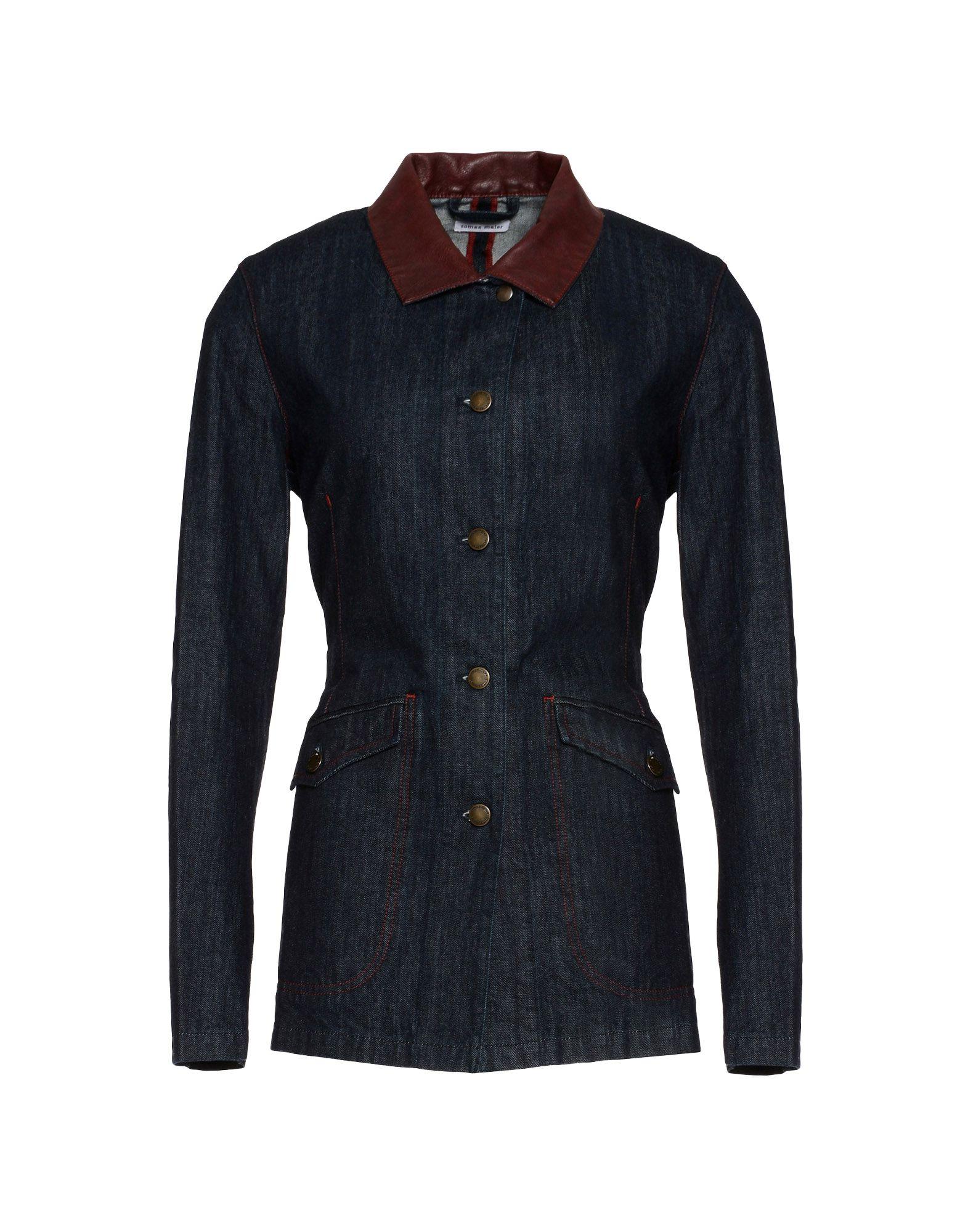 TOMAS MAIER Джинсовая верхняя одежда colmar джинсовая верхняя одежда
