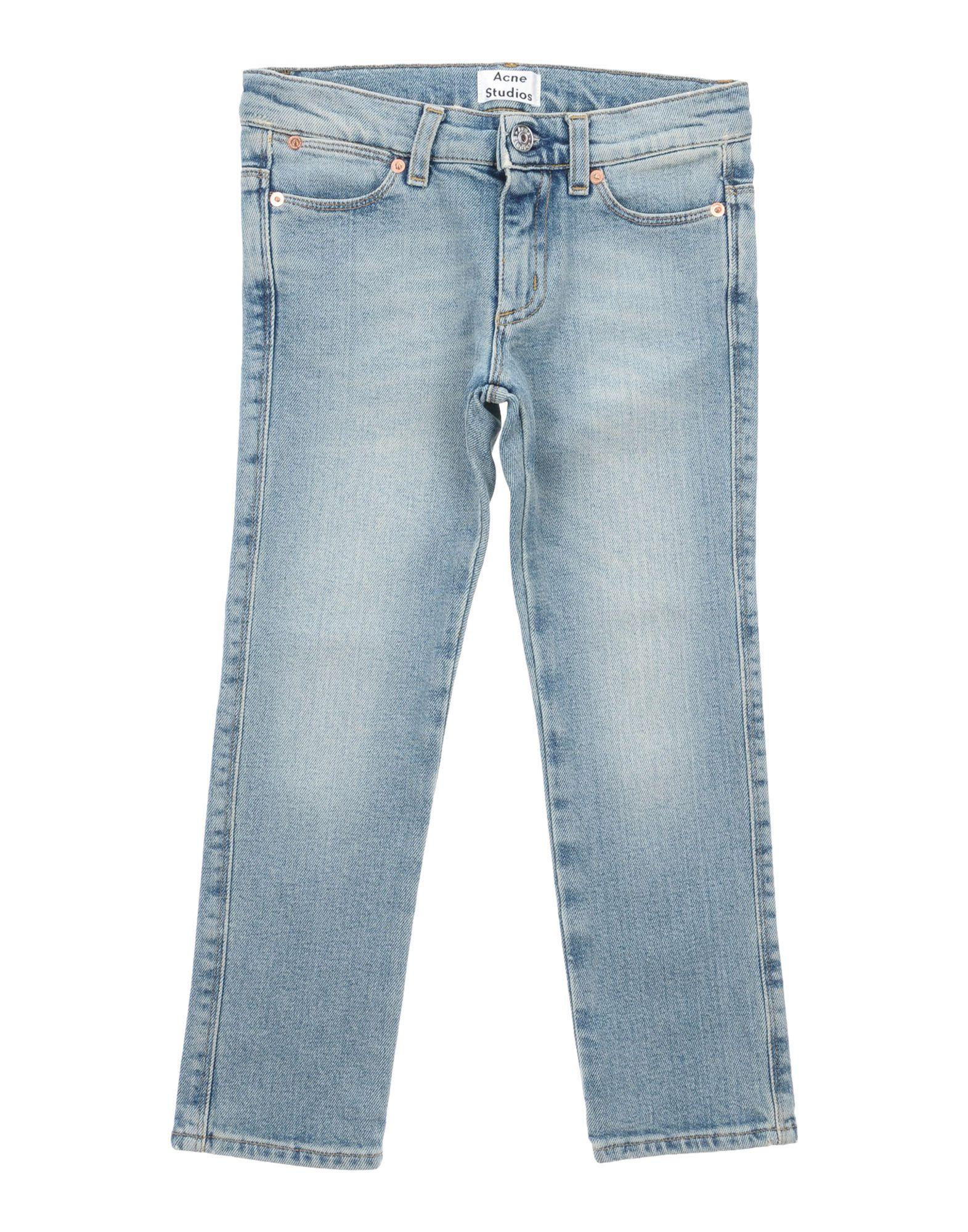 ACNE STUDIOS Jungen 3-8 jahre Jeanshose Farbe Blau Größe 6