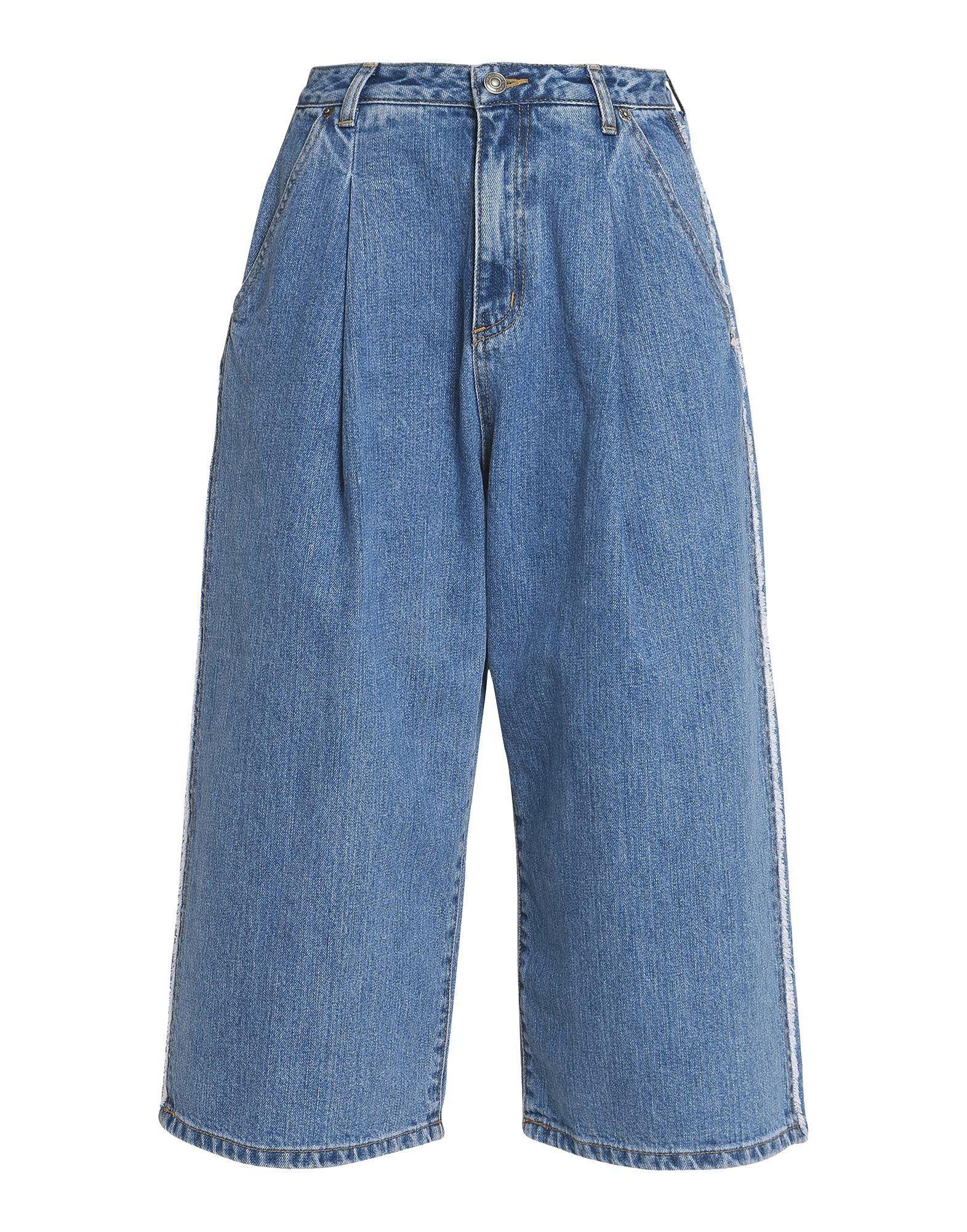 купить SJYP Джинсовые брюки-капри по цене 20000 рублей