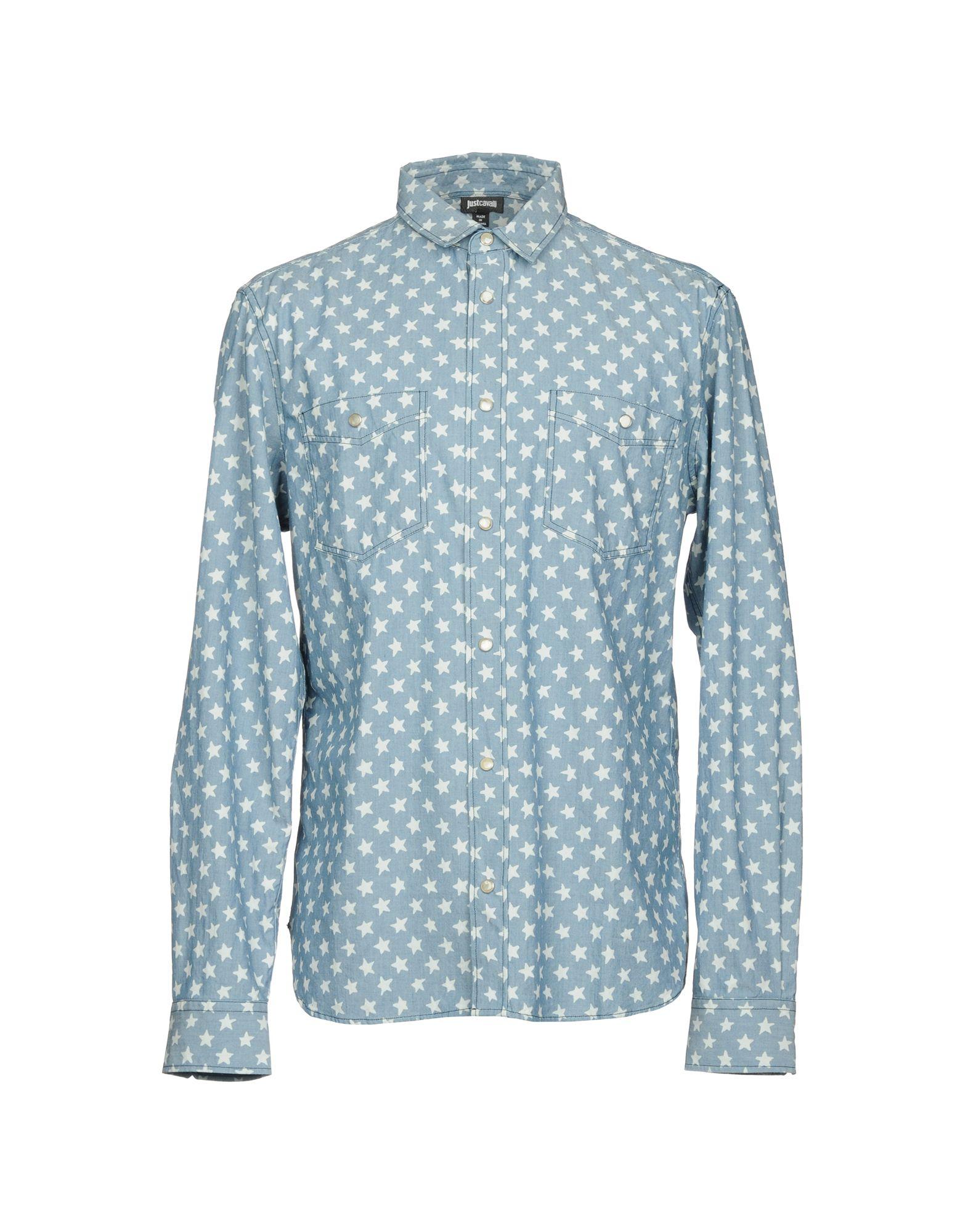 JUST CAVALLI Джинсовая рубашка рубашка джинсовая 3 12 лет