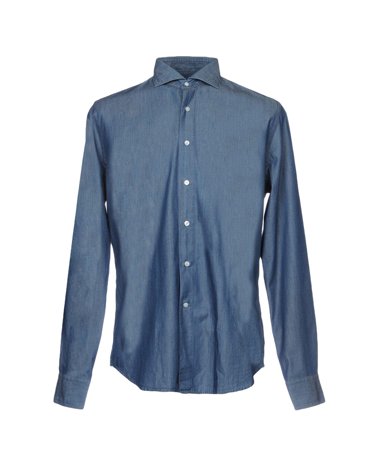 BAGUTTA Джинсовая рубашка цена 2017