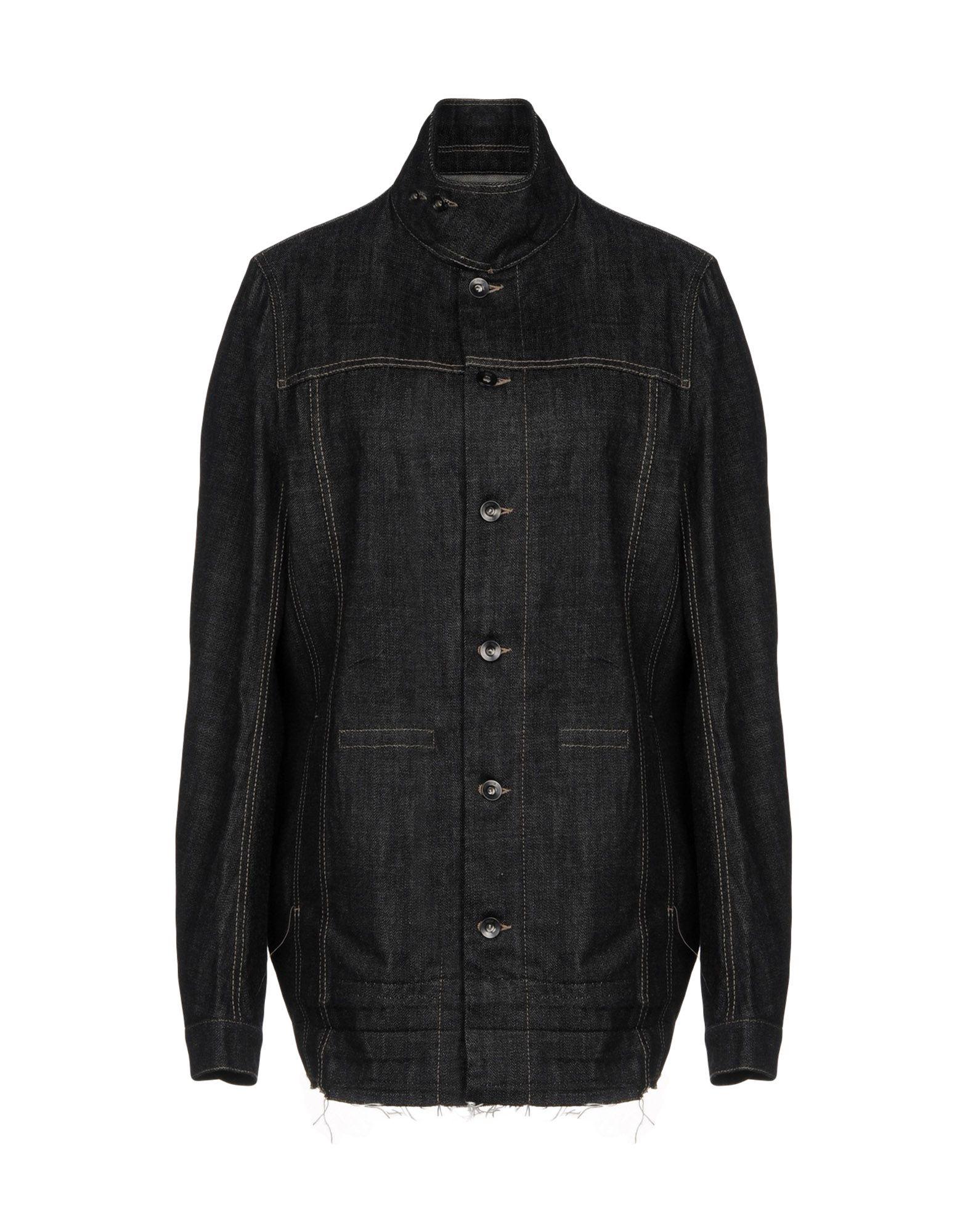 DRKSHDW by RICK OWENS Джинсовая верхняя одежда пуловер quelle rick cardona by heine 66328