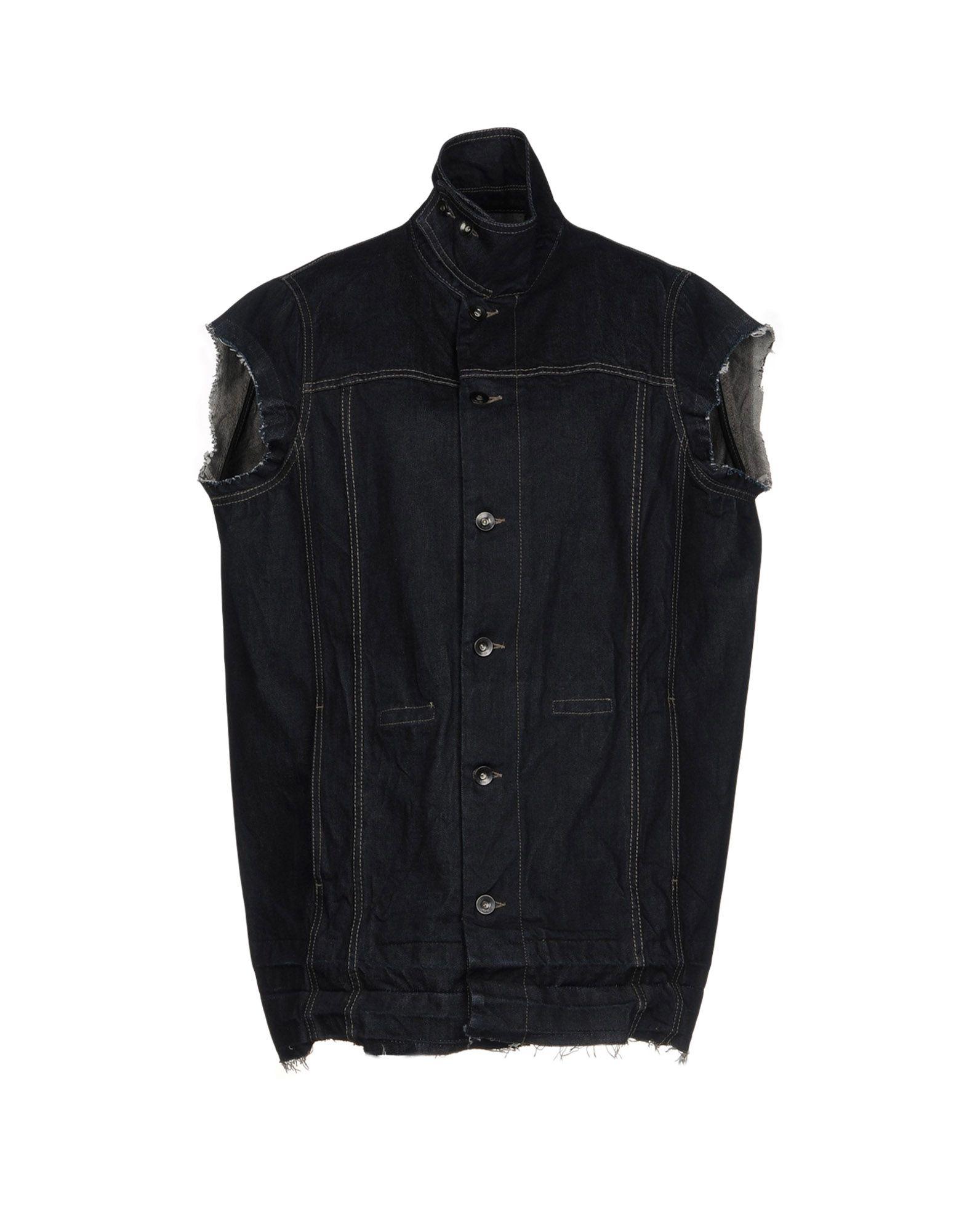 DRKSHDW by RICK OWENS Джинсовая верхняя одежда пуловер quelle rick cardona by heine 11820