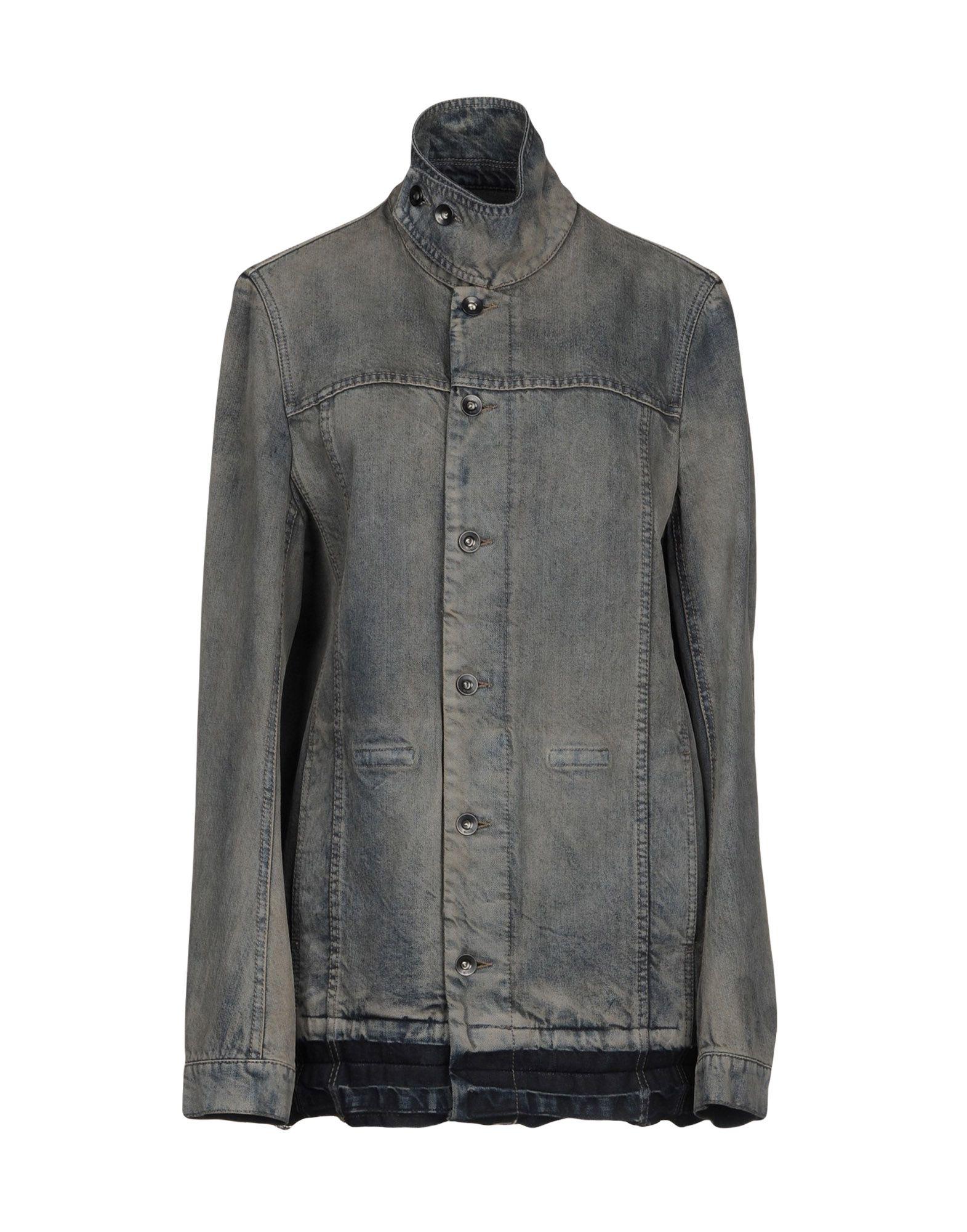 DRKSHDW by RICK OWENS Джинсовая верхняя одежда пуловер quelle rick cardona by heine 6170